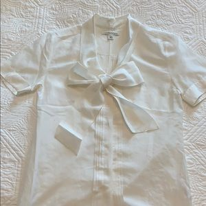 Scarf tie neck blouse